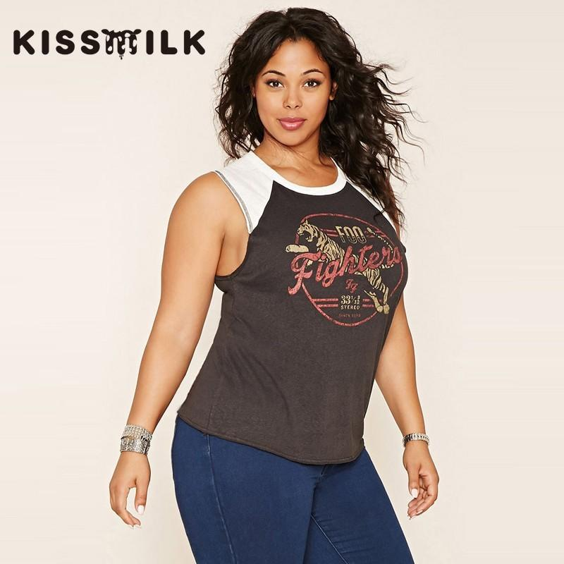 f122910d 2017 New Stylish Plus Size Women's Clothing Autumn Color Printing T ...
