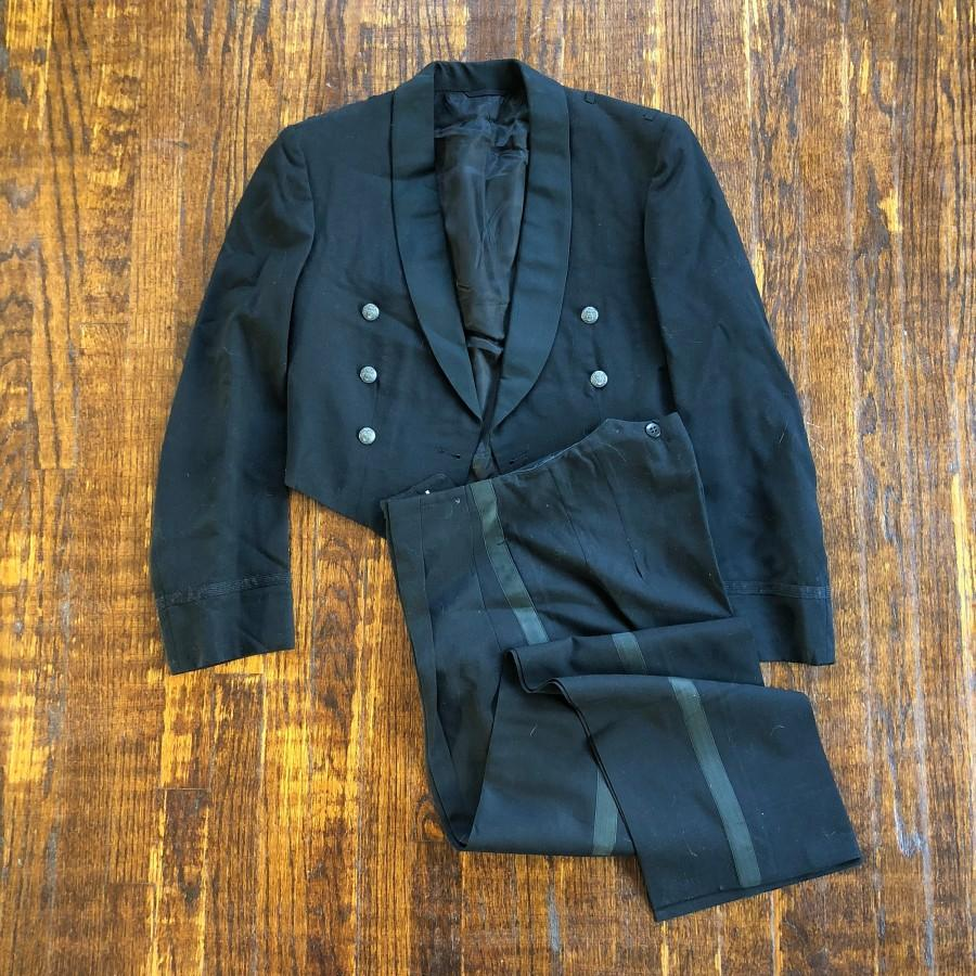 Свадьба - 1965 Hirsch Tyler Co. Formal Uniform Suit