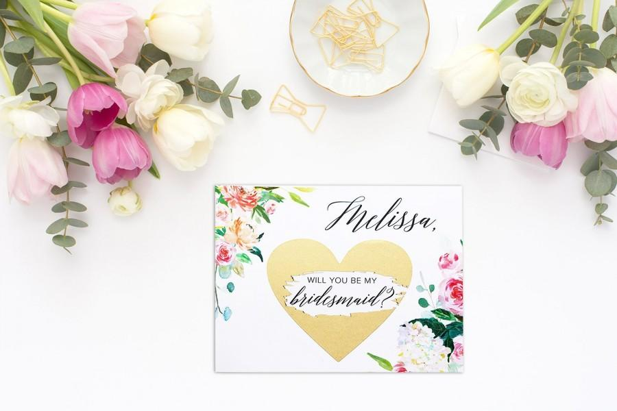 Wedding - Will you be my bridesmaid card, bridesmaid proposal card, be my maid of honor, bridesmaid card, be my bridesmaid, bridesmaid proposal