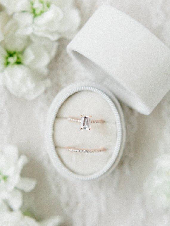 Свадьба - VELVET RING box, velvetringbox
