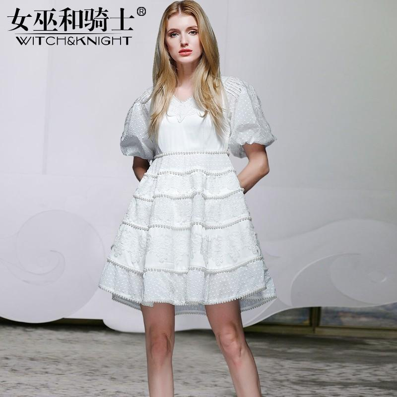 Свадьба - Attractive Split Front Curvy A-line Bishop Sleeves V-neck Tulle It Girl Spring 9/10 Sleeves Dress - Bonny YZOZO Boutique Store