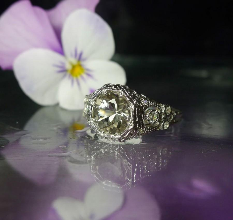 Hochzeit - Herkimer Diamond, Herkimer Diamond Ring, Natural Herkimer Diamond, Direct From the Source, Gemstone Ring
