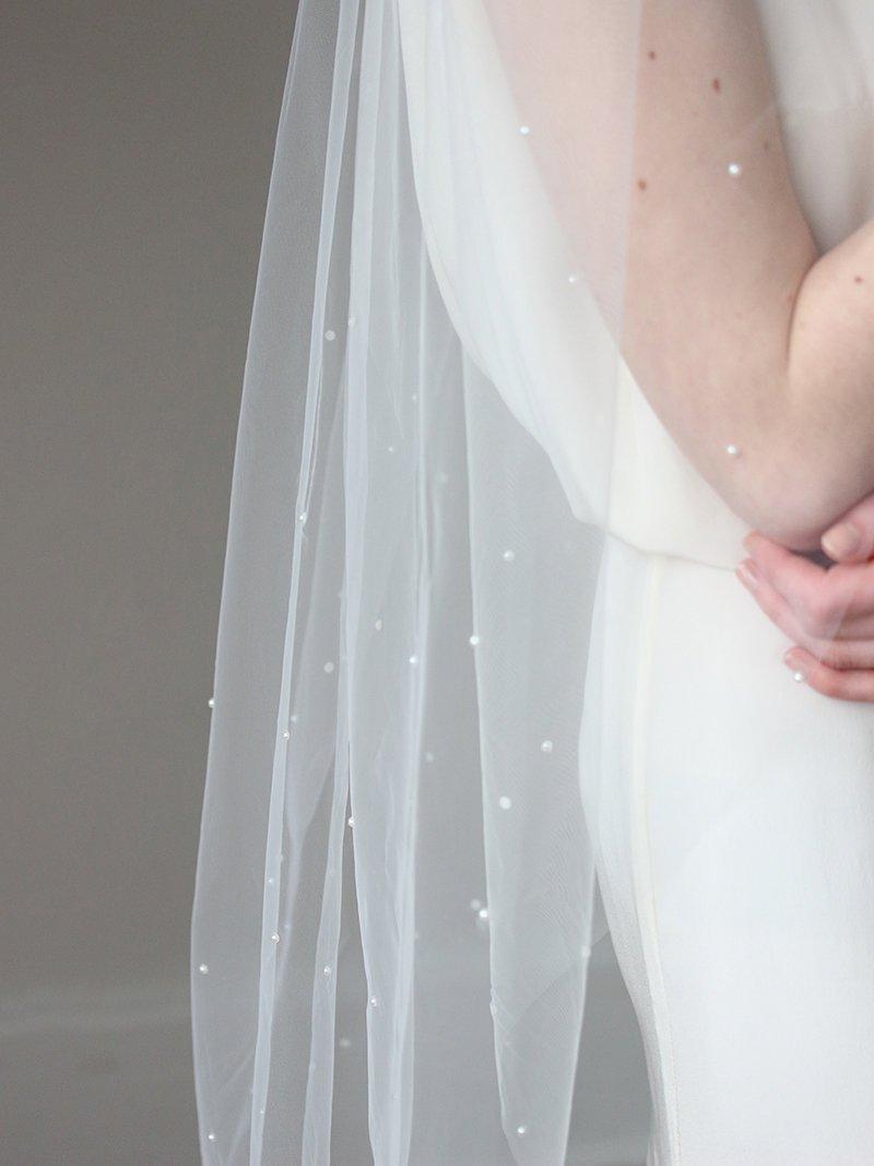 Mariage - Pearl Veil