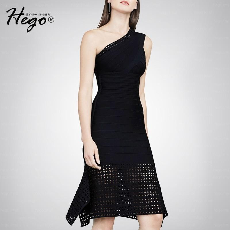 Wedding - Sexy Attractive Hollow Out Slimming Off-the-Shoulder Fall Formal Wear Midi Dress Dress - Bonny YZOZO Boutique Store