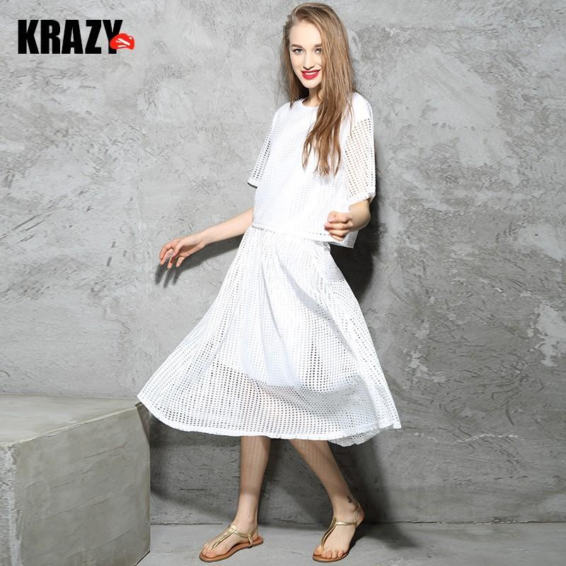 Wedding - Simple air mesh fabric fashion leisure suit jacket   skirt female 7579 - Bonny YZOZO Boutique Store