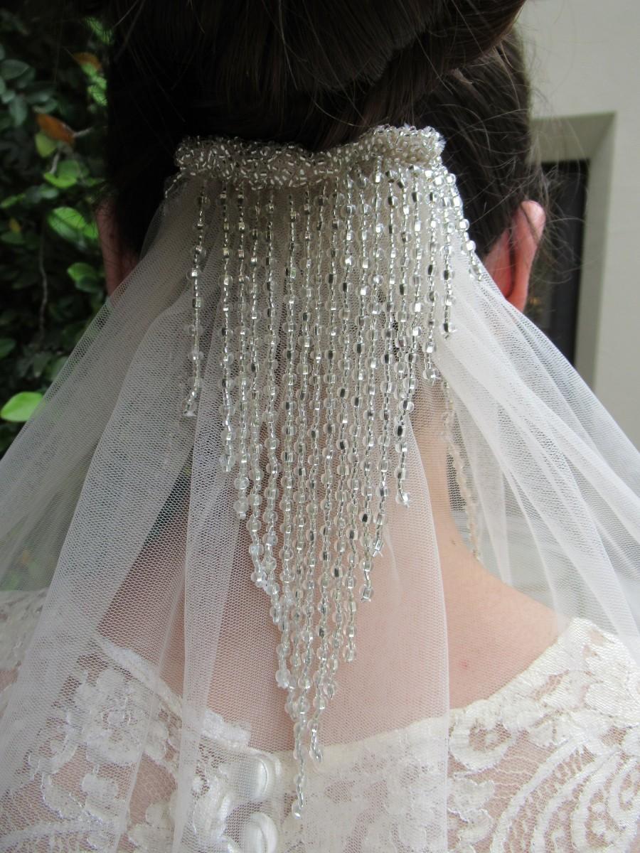 Hochzeit - Blush Pink Veil, Wedding Veil, Bridal Veil, Pink Wedding Veil, Long Wedding Veil, Silver Veil, Cathedral Veil, Veil, Veils, Wedding veils