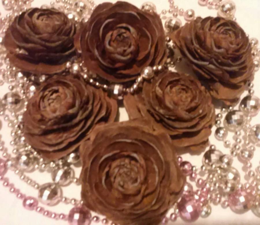 Hochzeit - 35 Rose Pine Cones  or Cedar Rose , From The Deodar Cedar Tree ( Cedrus  Deodar )