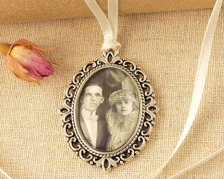 Свадьба - Personalised Wedding Bouquet Charm