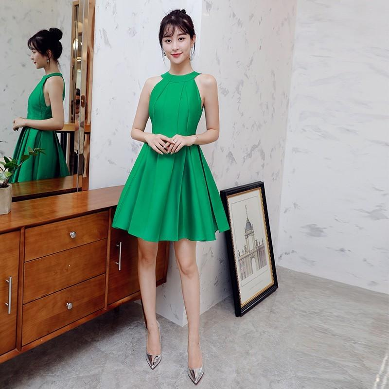 Wedding - Attractive Pleated Slimming Curvy A-line Off-the-Shoulder It Girl Dress Skirt - Bonny YZOZO Boutique Store