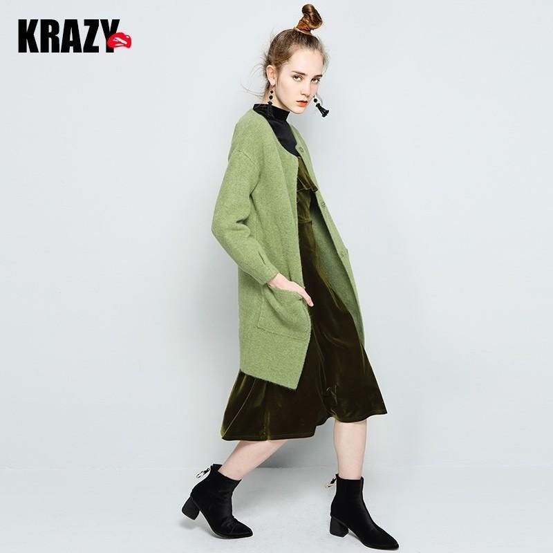 Свадьба - It Girl Soft Sweater Coat Overcoat - Bonny YZOZO Boutique Store