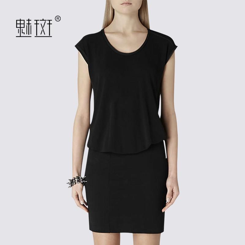 Свадьба - Summer slim professional women's professional career women temperament t short sleeve casual new fall dresses - Bonny YZOZO Boutique Store
