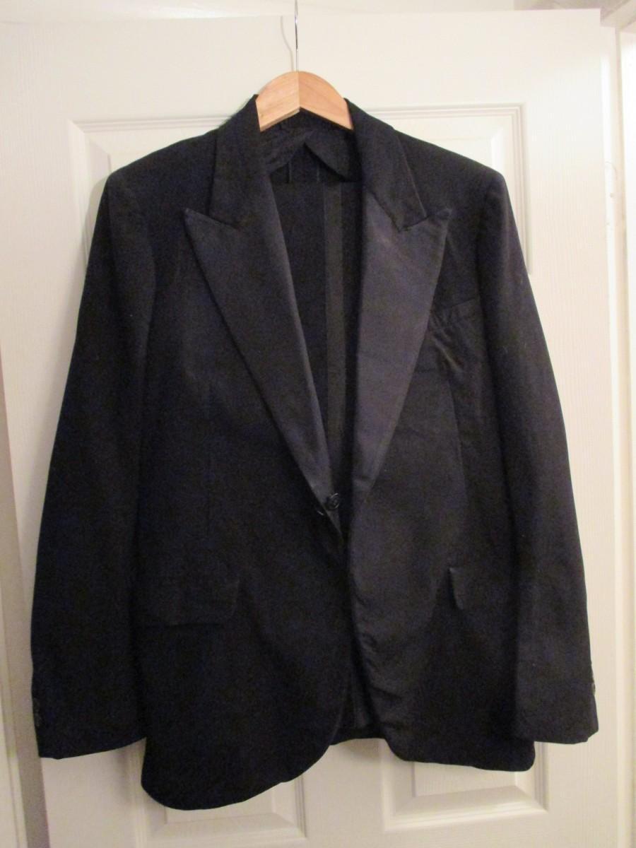 Hochzeit - Men's Genuine 1930's dinner suit Richman Brothers