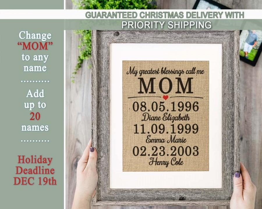 Christmas Presents For Mom.Gifts For Mom From Kids Mom Gift Mom Christmas Gift From