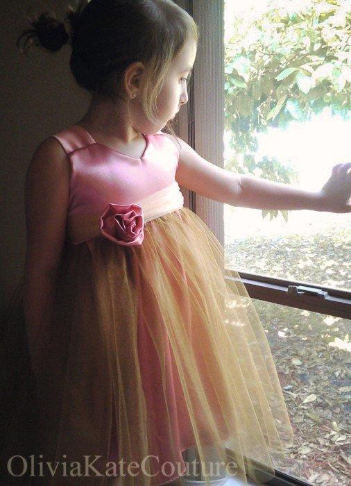 Mariage - Pink Rose Dress