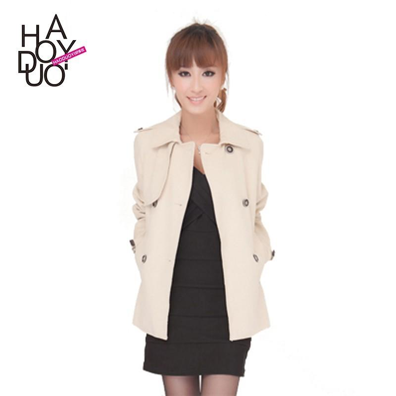 Wedding - Long line trench coat double breasted trench coat cars in 5 special offer - Bonny YZOZO Boutique Store