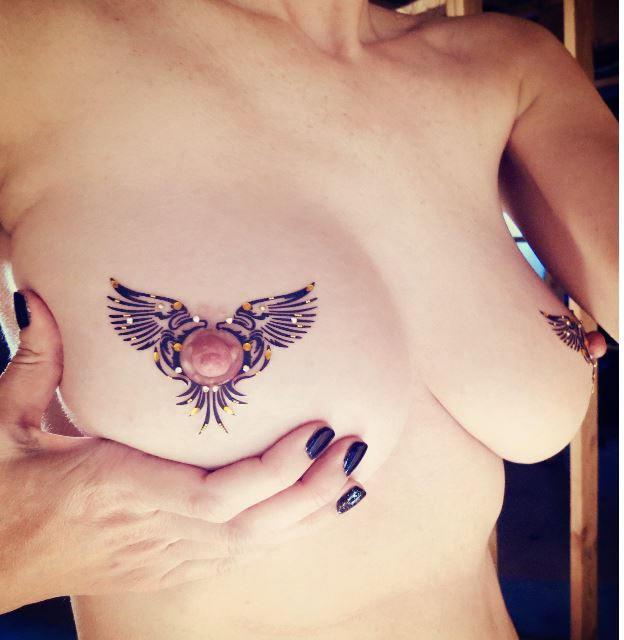 Hochzeit - Erotic Lingerie - Nipple Jewelry, NSFW, NPJ-8