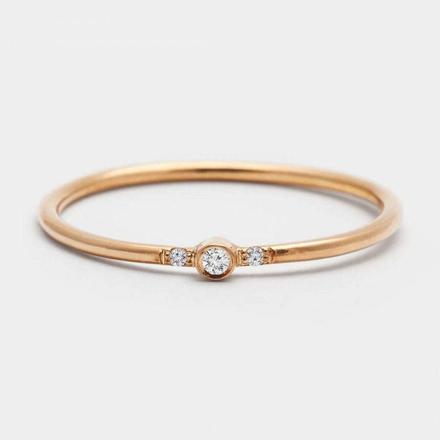 Mariage - Rings For Women - 14K Gold Engagement Ring - Purity Rings - Purity Rings for Girls - Engagement Rings for Women - Simple Engagement Rings