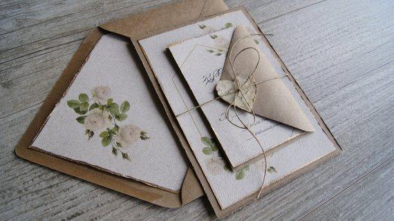 fb395bcf29d Floral Wedding Invitation