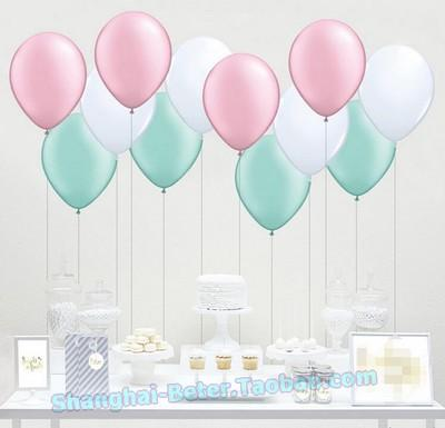 Wedding - Beter Gifts®Latex Balloons white Christmas party Decoration HH137