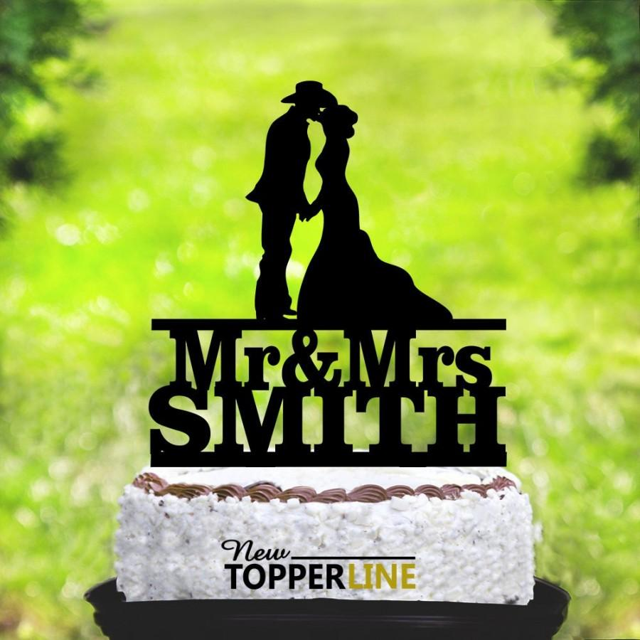 Hochzeit - Cowboy Wedding Cake Topper,Country Cake Topper,Western Cake Topper,Country Wedding Cake Topper,bride and groom Cake Topper (2010)