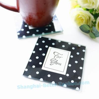 Свадьба - Beter Gifts®regalos подарки Black Coaster wedding bouquet BD032