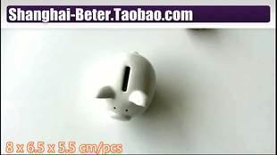 Mariage - BeterWedding創意可愛陶瓷小豬存錢罐結婚用品婚慶結婚回禮禮品生日禮物BETER-TC029