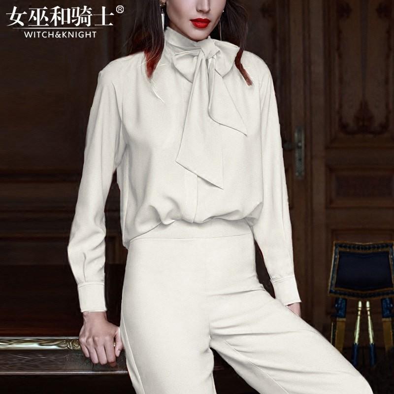 Wedding - Vogue Simple Attractive Trendy Outfit Twinset Wide Leg Pant Top - Bonny YZOZO Boutique Store