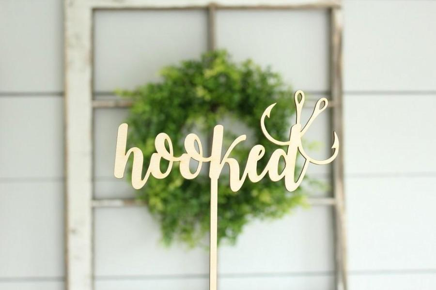 Mariage - Hooked Cake Topper