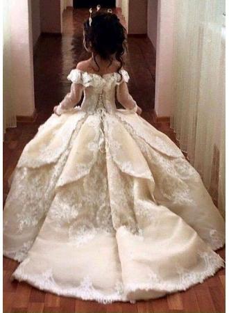 Gunstige Blumenmadchenkleider Online Blumenkinder Kleider Hochzeit