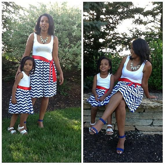 Свадьба - SALE 4th of July Mother and daughter mommy n me dresses red white blue, Mother Daughter Dress, Mommy N Me outfits, Mommy n Me Dresses