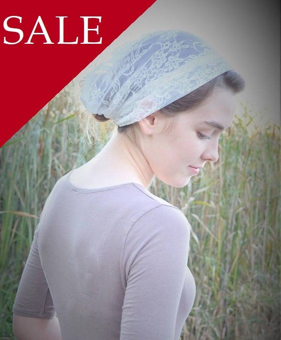 Wedding - SALE Soft Ivory Veil with Ties