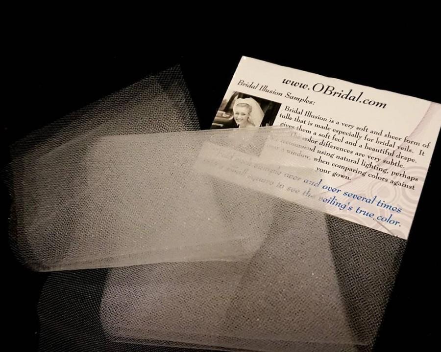 Wedding - Samples of Bridal Illusion for Wedding Veils