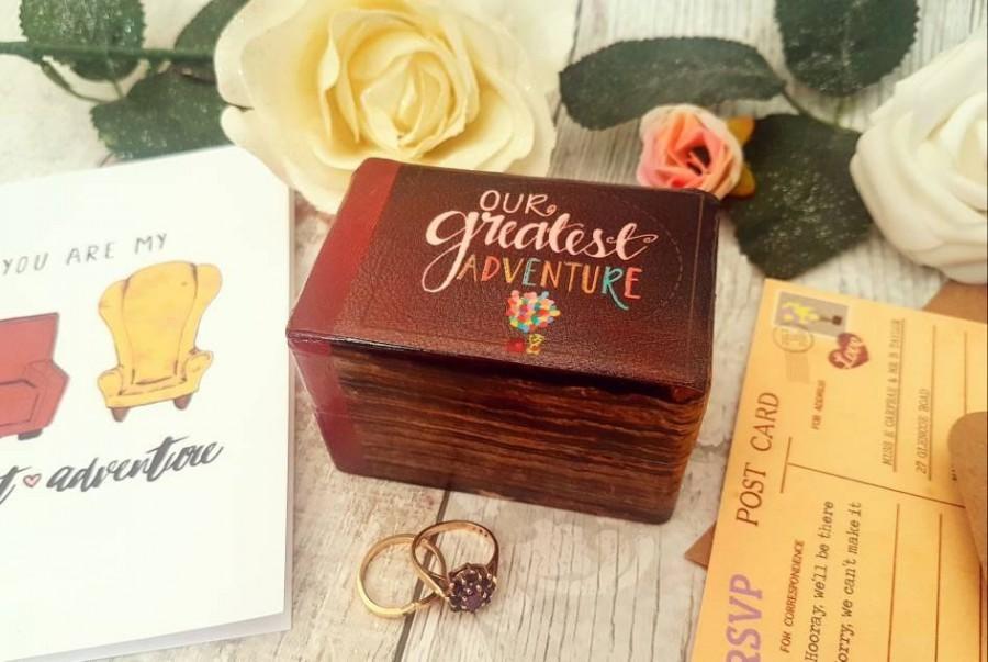 Свадьба - Luxury Wedding Ring Box