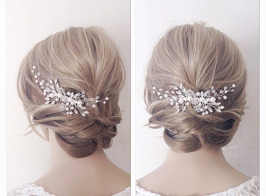 Mariage - Bridal hair piece,Bridal hair vine ,bridal headpiece, bridal hair comb, wedding hair comb, wedding hair piece,pearl hair vine