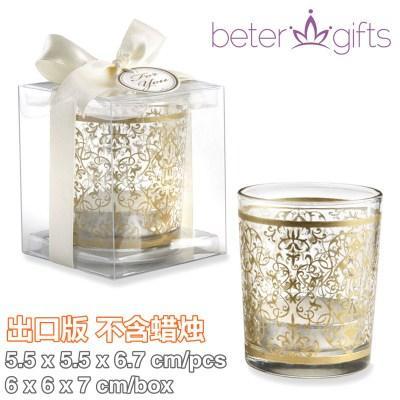 Mariage - eter Gifts®加拿大婚礼小物纪念品浪漫Tealights餐桌祈福小蜡烛杯烛台LZ045