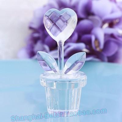 Mariage - 倍樂禮品®handmade crafts Flower Pot Floral Wedding Favors SJ023/B