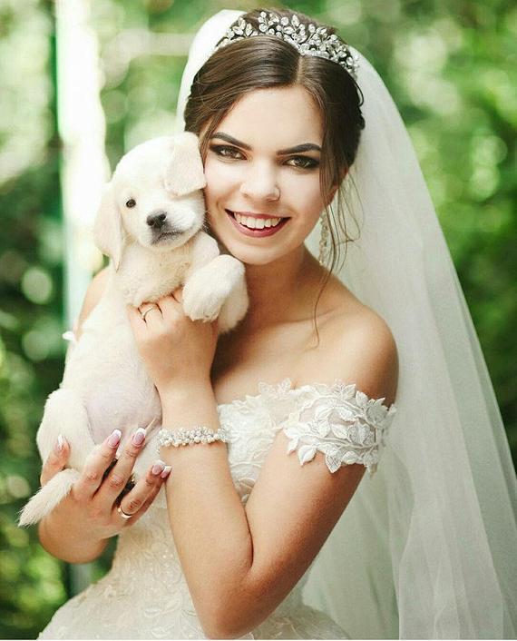 Wedding - Crystal wedding tiara Diadem Crystal crown Silver twig headband Bridal Tiara Seaglass crown tiaras de novia diadème mariée Princess Tiara