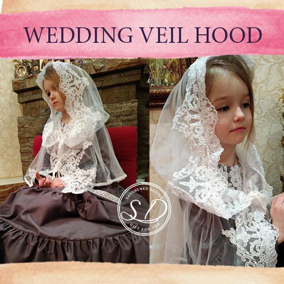 Details about  /Lace Mantilla Catholic Veil Church Veil Chapel Veil Head Covering Latin Mass