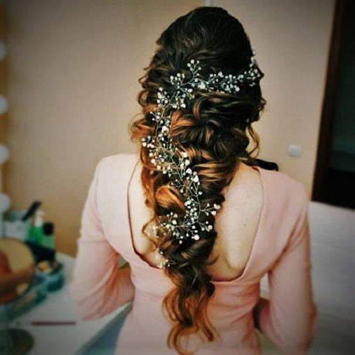 زفاف - Free shipping!!Extra Long Hair Vine,Bridal Hair Vine,Wedding Hair Vine,Crystal Hair Peice,Bridal Jewelry,Hair vine.wedding hair vine.