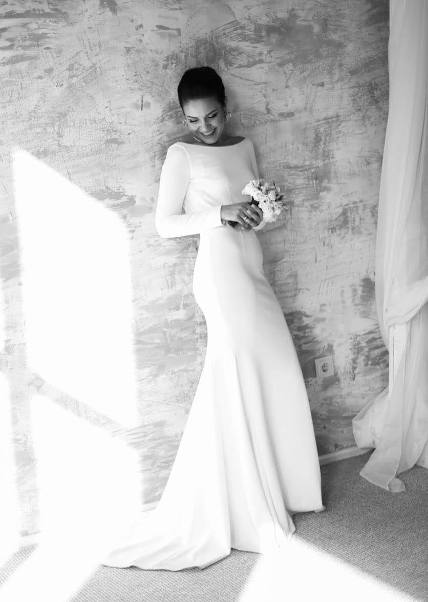 Elegant Wedding Dress Long Sleeve Wedding Dress Wedding Dress