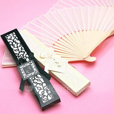 Mariage - Beter Gifts®Vintage Style/Elegant Vintage Style Bamboo Hand fan With Ribbons