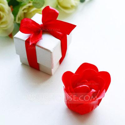 Mariage - BeterWedding Red Rose Design Lovely Rose/Flower Design Soaps