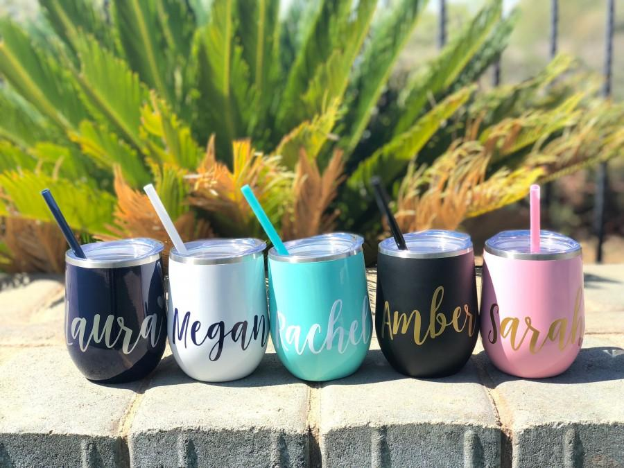 Wine Tumbler Custom Wine Cup Personalized Wine Tumbler