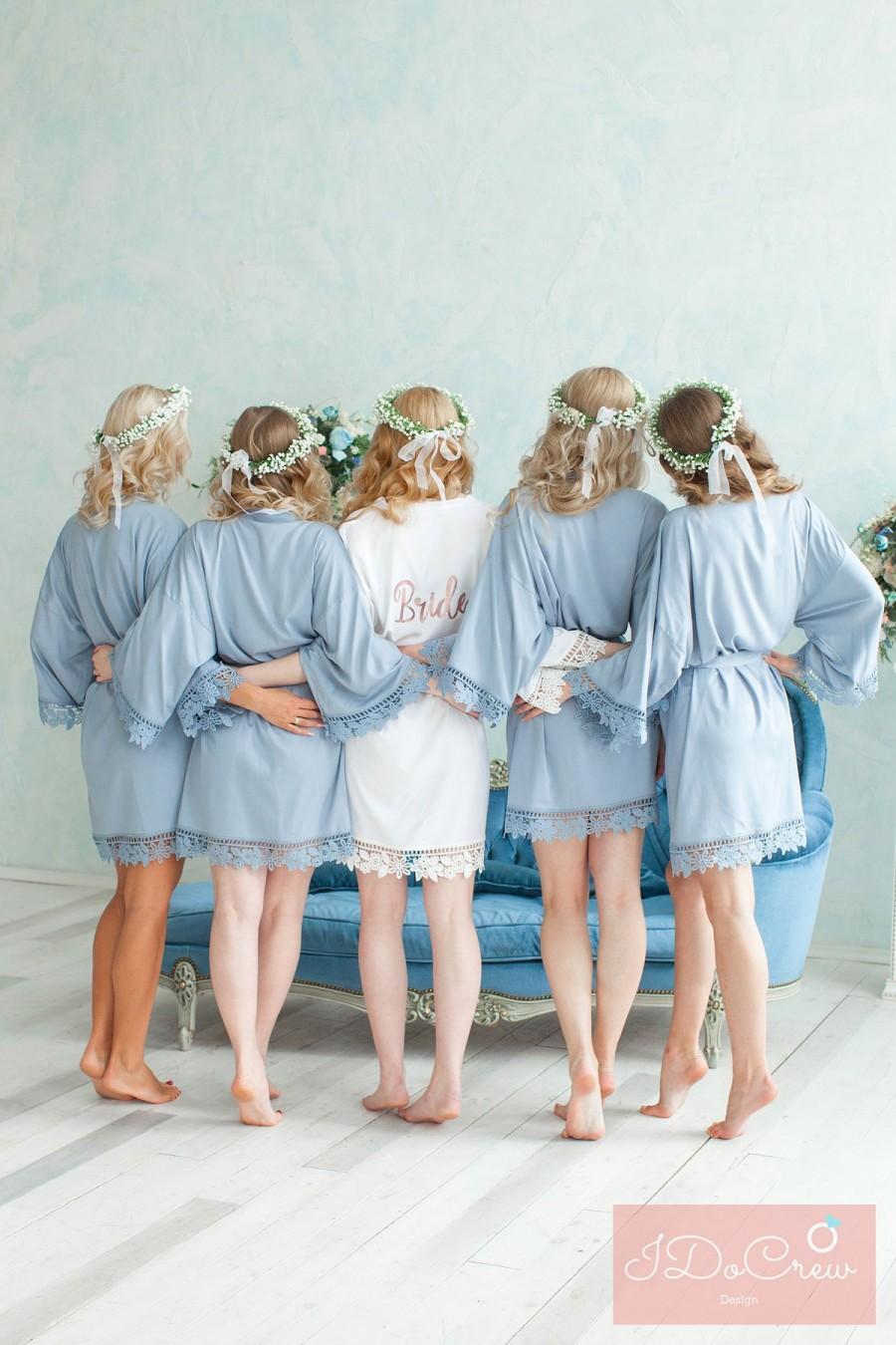 Hochzeit - Bridesmaid Robes