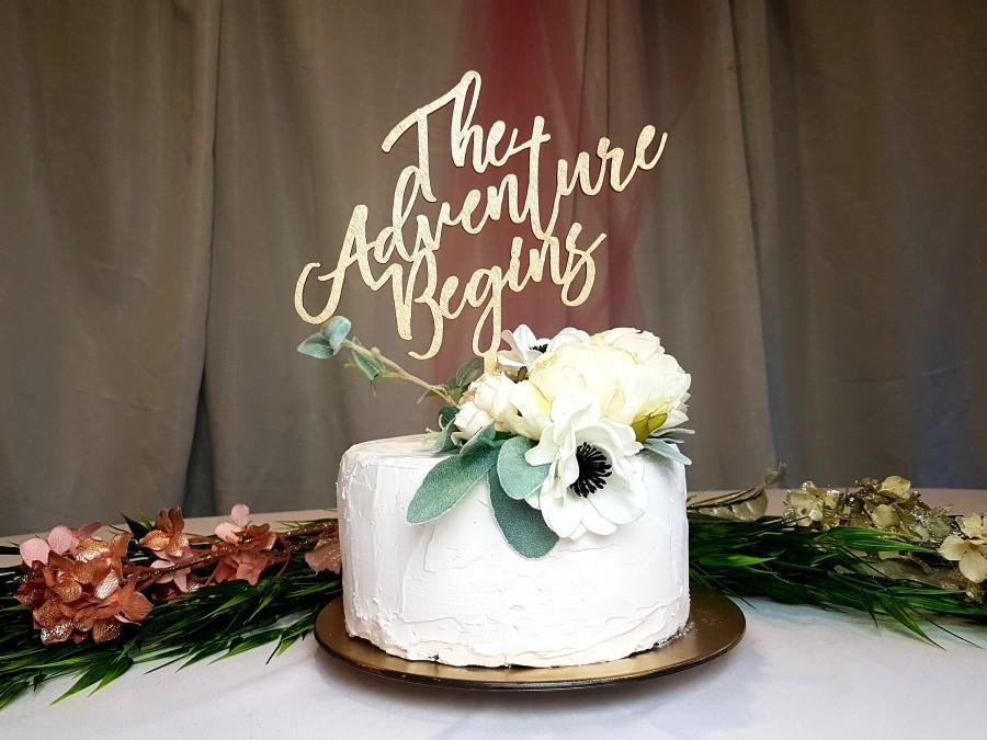 Wedding - Wooden Wedding Cake Topper Ideas