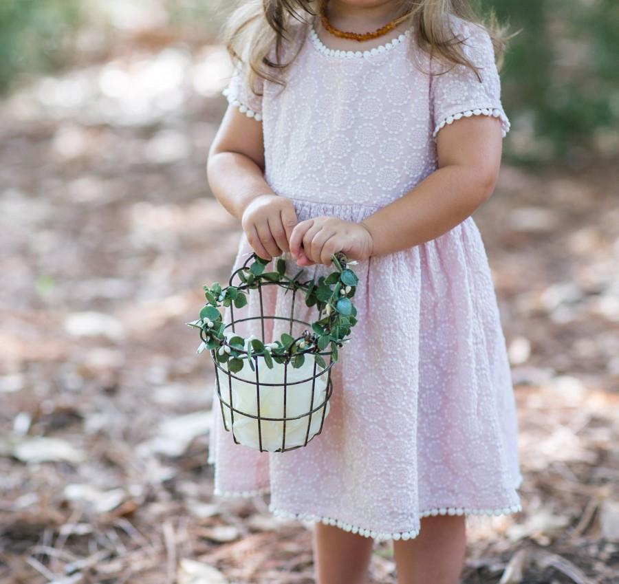 Wedding - Flower Girl Basket