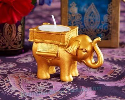 زفاف - BeterWedding Decorative White Elephant Tea Light Candle holder HH068