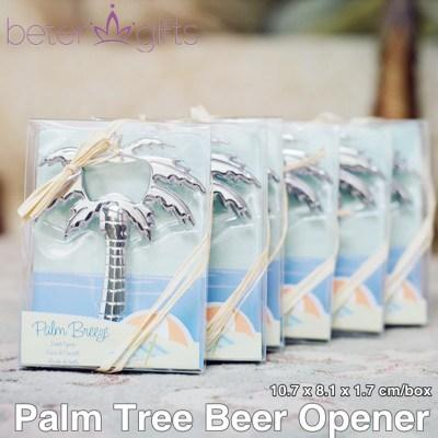 Hochzeit - BETERWedding Palm Tree Wine Opener Bride to Be Wedding Souvenirs BETER-WJ097