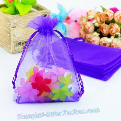 زفاف - Beter Gifts® Sheer Organza Favor Bags Spring Wedding TH033