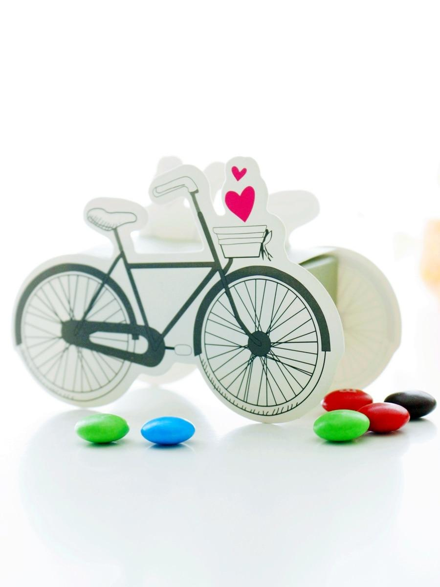 Mariage - BeterWedding Vintage-inspired Bicycle Shaped Boxes DIY Wedding Decorations